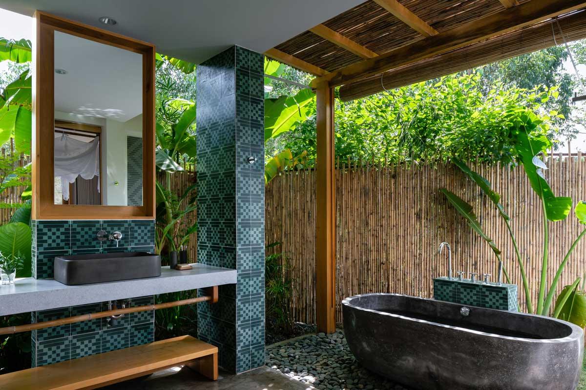 Balinese-syle Bathroom