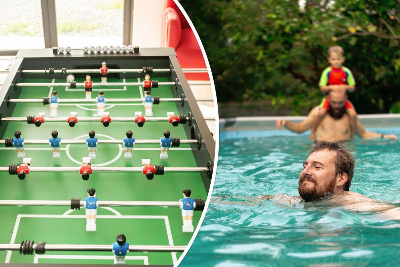 Table Soccer & Pool