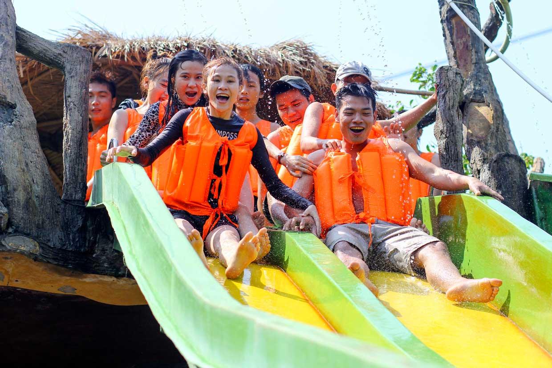 Waterpark Slide
