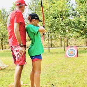 Archery, Badminton, Football